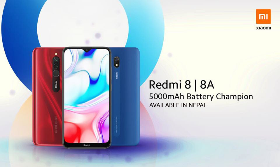 Redmi 8 and Redmi 8A Launched in Nepal at Aggressive Price