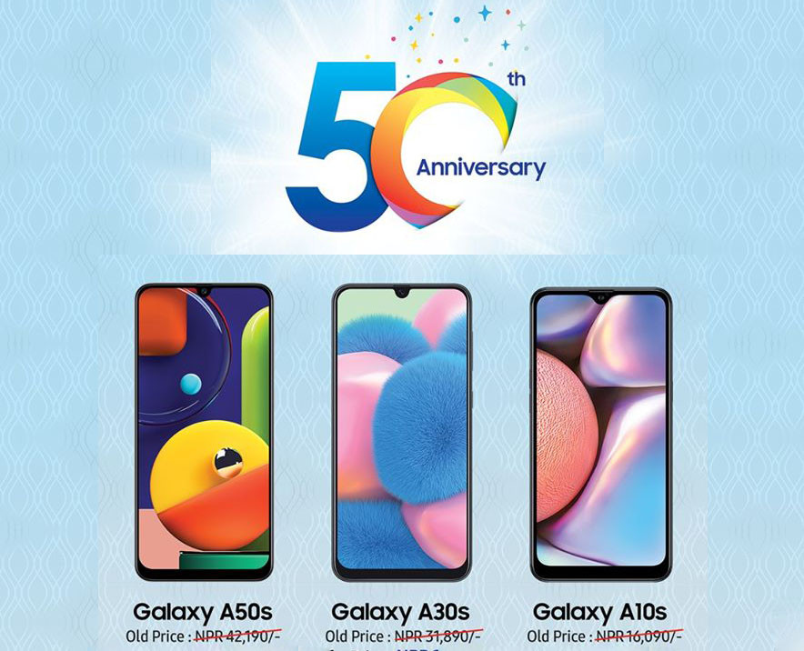 Samsung 50th Anniversary Offer: Heavy Cash Discount on Smartphones!