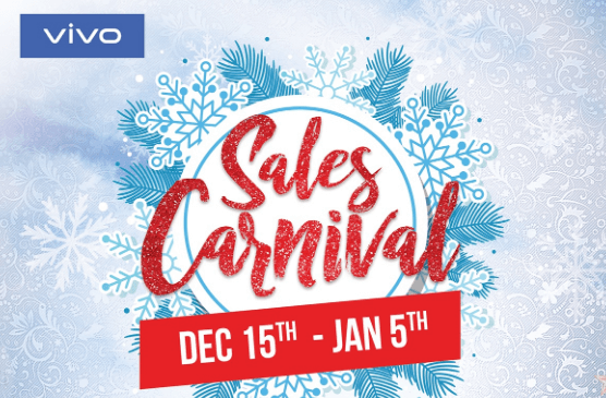 Vivo Sales Carnival Kick Off From 15th December | Discounts & Prizes Coming Up
