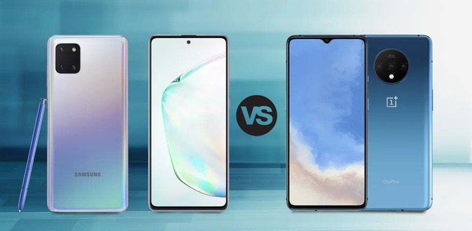 Samsung Galaxy Note10 Lite Vs OnePlus 7T : Is There Even A Race?