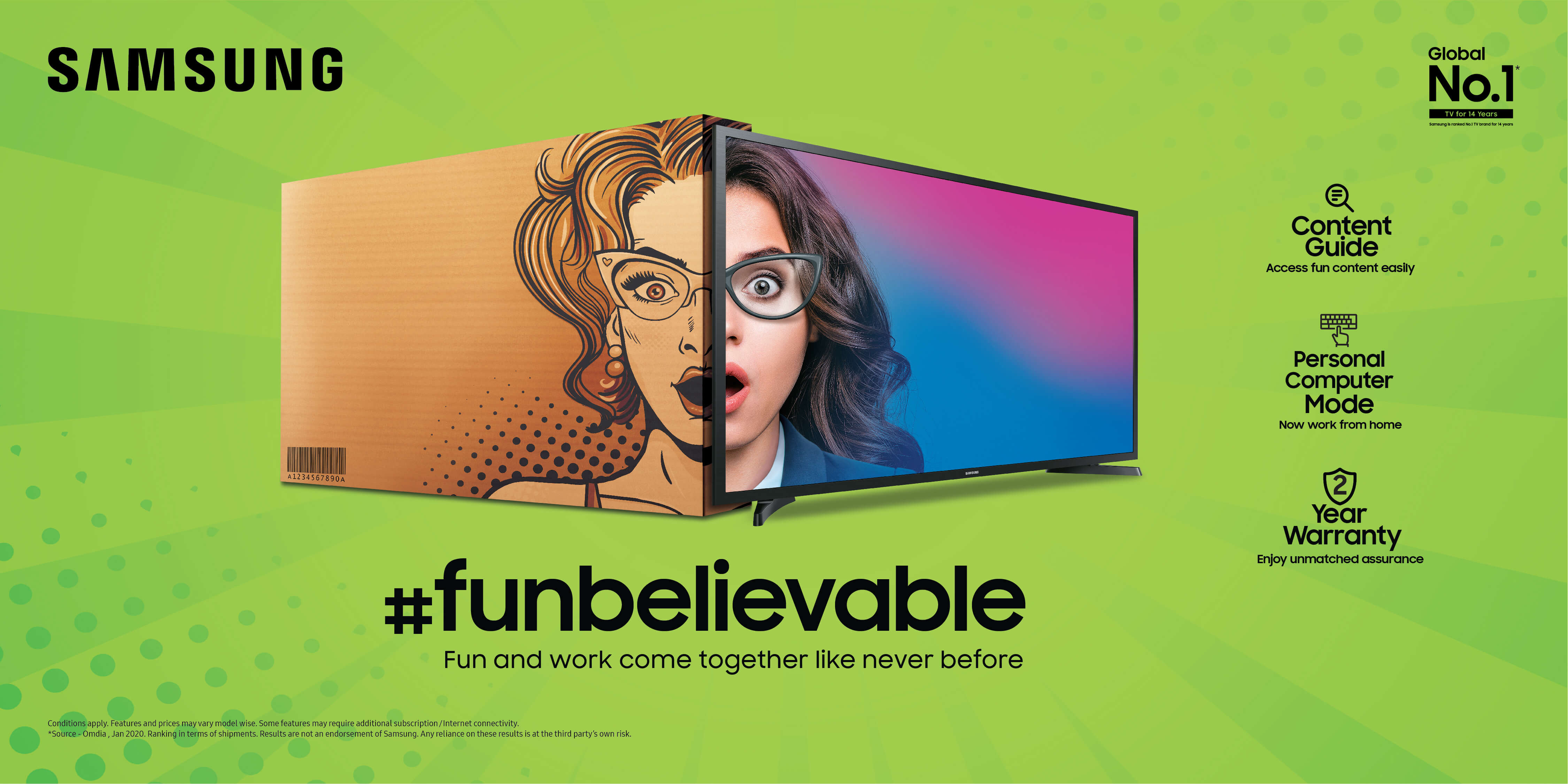 Samsung Launches #Funbelievable TV Series | So Cheap!