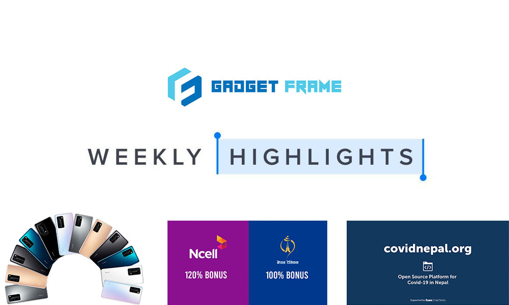 GadgetFrame Weekly Tech Highlights - 22-28 March 2020