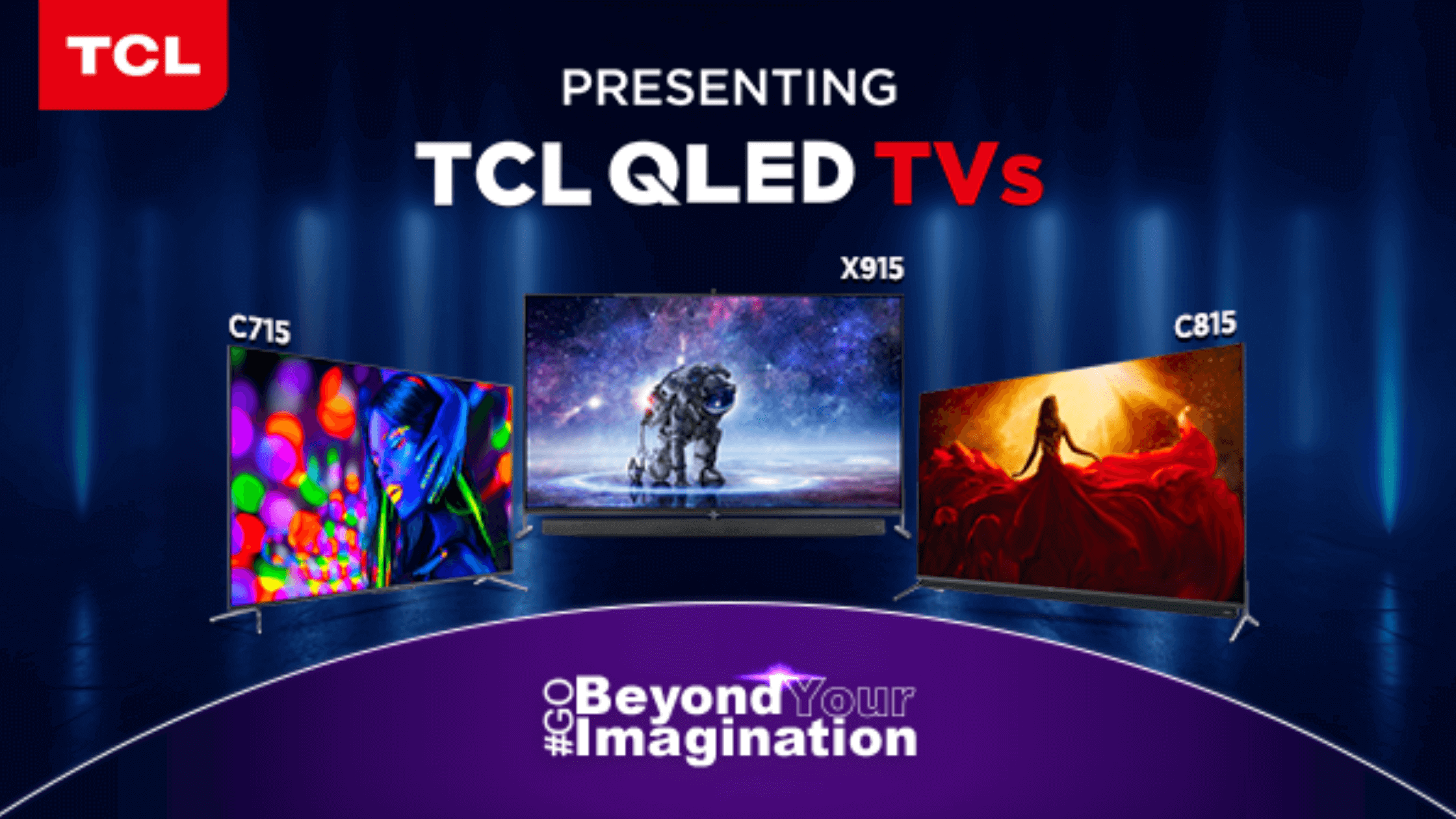 TCL Officially Launched New 4K and 8K QLED TV Lineup