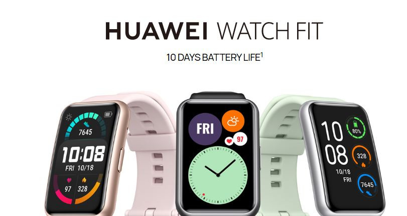 Huawei Watch Fit Announced | Budget Fitness Tracker/Smartwatch Hybrid