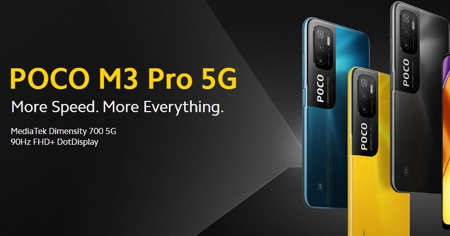 Poco M3 Pro 5G Goes Official with Dimensity Chipset